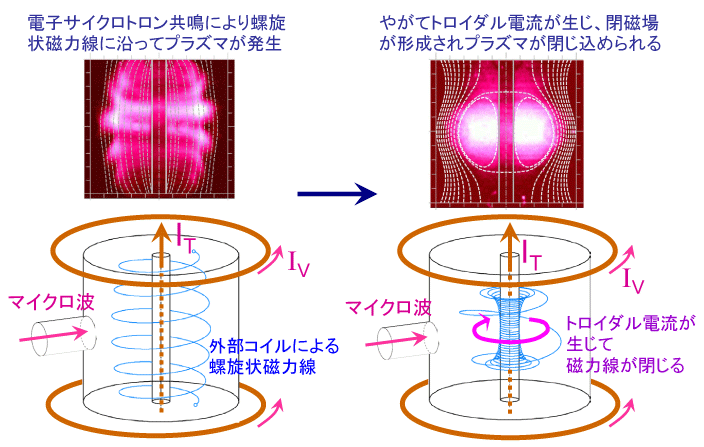 Formation of Sperical Tokamak by Microwave
